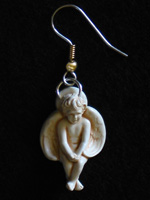 This is The Companion Angel Loop Earring